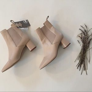 H&M Leather Booties